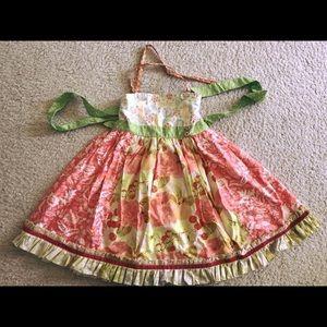 Matilda Jane Platinum Ellie Dress - size 8- Twins?